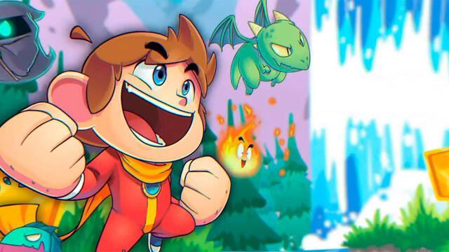 Alex Kidd in Miracle World DX de Sega vuelve a consolas y PC