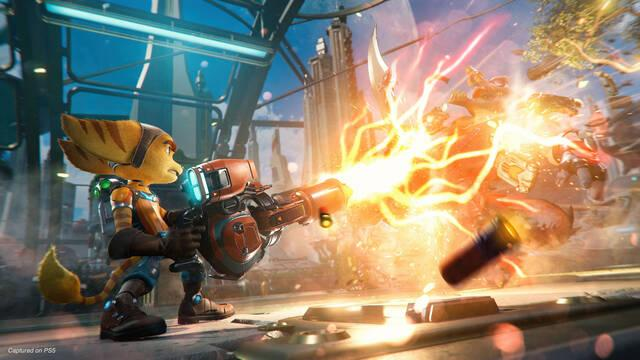 Ratchet & Clank: Rift Apart con raytracing en PS5
