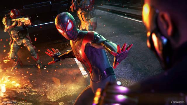 Spider-Man Miles Morales PS4 fecha de lanzamiento PS5