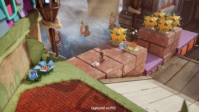 Sackboy: A Big Adventure, el nuevo juego de Little Big Planet para PS5.
