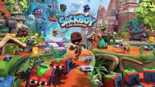 Sackboy: Una aventura a lo grande PS5 y PS4