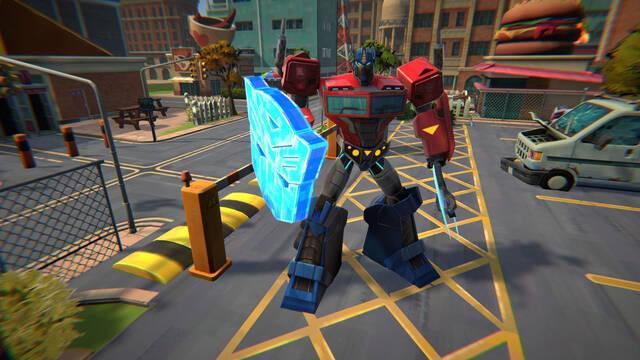 Transformers: Battlegrounds estrena el primer tráiler de su jugabilidad.