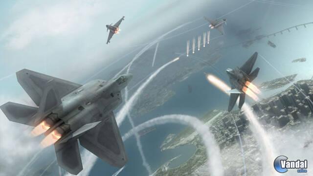GC: Nuevas imágenes de Tom Clancy's HAWX