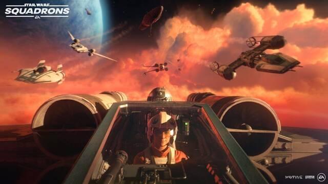 Star Wars: Squadrons tráiler y fecha
