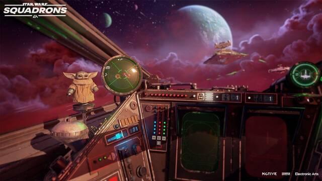 Star Wars Squadrons y el contenido de The Mandalorian