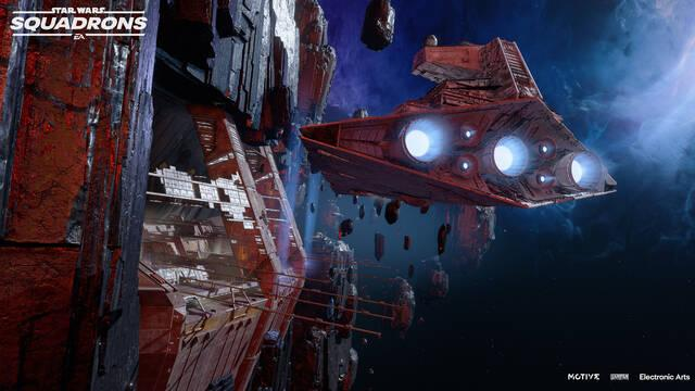 Star Wars Squadrons Puerto Fostar nuevo mapa