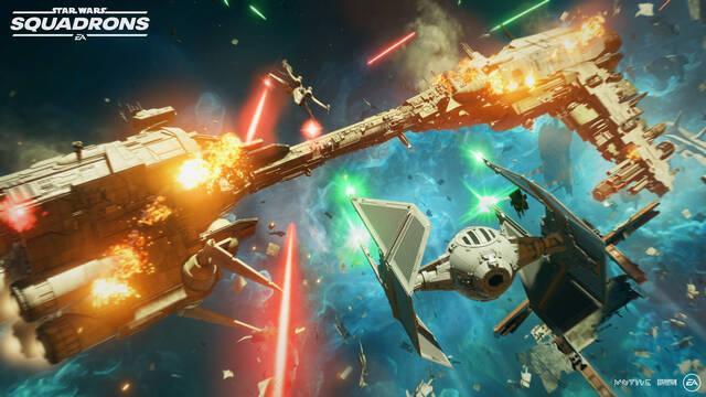 Star Wars: Squadrons es compatible con los controladores HOTAS