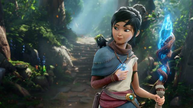 Kena: Bridge of the Spirits muestra su jugabilidad y gráficos en un nuevo tráiler