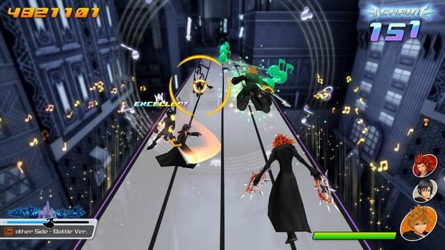 Kingdom Hearts Melody of Memory demo
