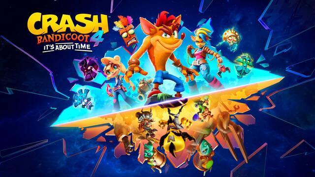 Crash Bandicoot 4 y el espacio que necesita en Switch