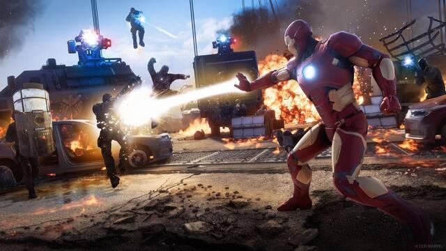 Marvel's Avengers mejor vendido en Reino Unido