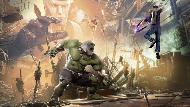 Marvel's Avengers en PS5 y XSX