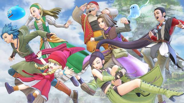Dragon Quest XI S: Echoes of an Elusive Age - Definitive Edition demo PS4, Xbox One y PC