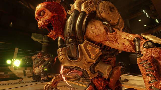 Doom apunta a llegar a los 1080p y a los 60 fps en consolas