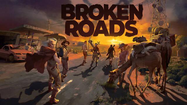 Broken Roads RPG para consolas y PC estilo Fallout