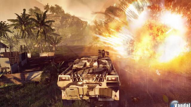 E3: Nuevas imágenes de Crysis Warhead