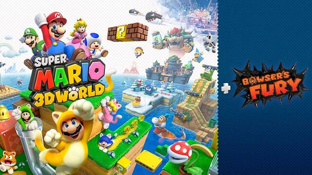 Super Mario 3D World + Bowser's Fury resolución y fps en Nintendo Switch