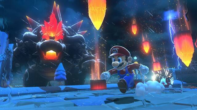 Super Mario 3D World + Bowser's Fury ventas Reino Unido