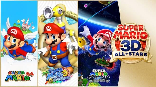 Super Mario 3D All-Stars domina las ventas de la semana en Japón