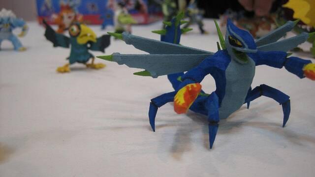 Sony y Comansi presentan la colección de figuras de Invizimals