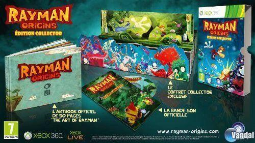 Primeros detalles e imágenes de la edición coleccionista de Rayman Origins