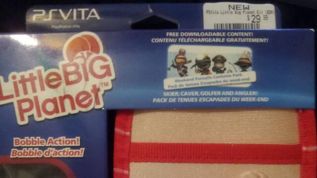 Sony licencia una funda de LittleBigPlanet para PlayStation Vita