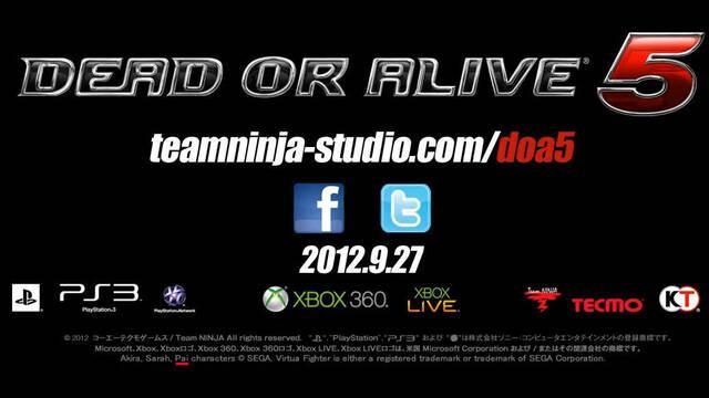 Confirmada la presencia de Pai de Virtua Fighter en Dead or Alive 5