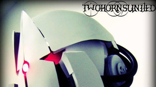 Crean una máscara de gas inspirada en las torretas de Portal