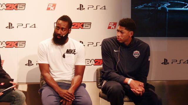 Crónica: NBA 2K15 se presenta en España con Harden y Anthony Davis