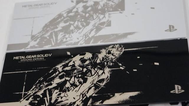 Kojima muestra varios diseños de especiales de PS4 con MGS V