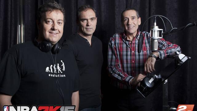 38 horas de grabación adicionales en castellano para NBA 2K15