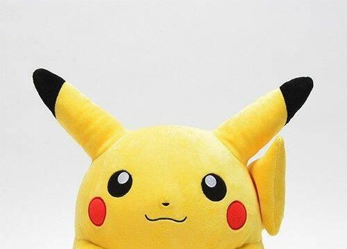 Anuncian un peluche de Pikachu con altura y peso 'real'