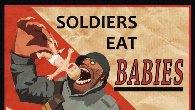 Un canal ruso confunde una ilustración basada en Team Fortress 2 con propaganda de la Primera Guerra Mundial
