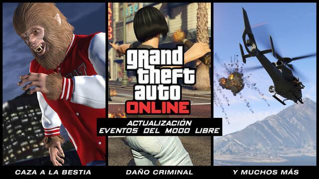 GTA Online nos muestra su próxima gran actualización en vídeo e imágenes