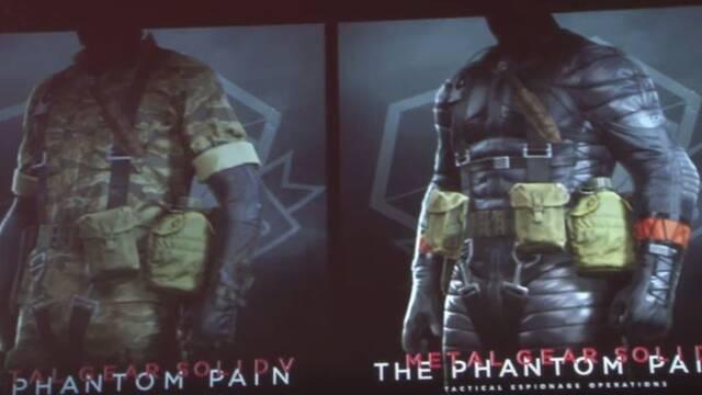 Anunciados los primeros trajes descargables de MGS V: The Phantom Pain