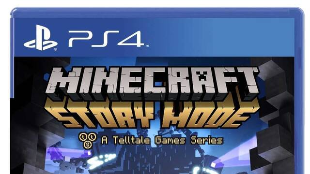Minecraft: Story Mode muestra su carátula