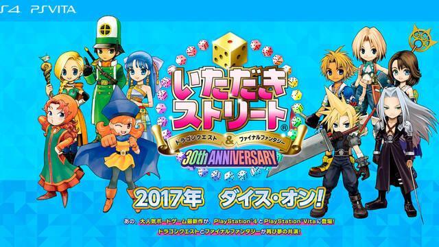 Square Enix anuncia Itadaki Street para PS4 y PS Vita