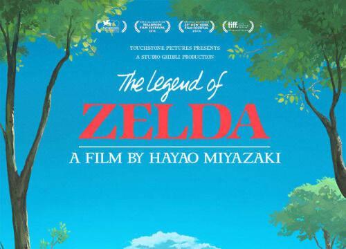 Imaginan The Legend of Zelda como si fuese una producción de animación del Studio Ghibli