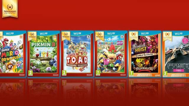 Llegan cuatro nuevos Nintendo Selects a Wii U