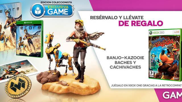 GAME venderá la edición coleccionista de ReCore de forma exclusiva