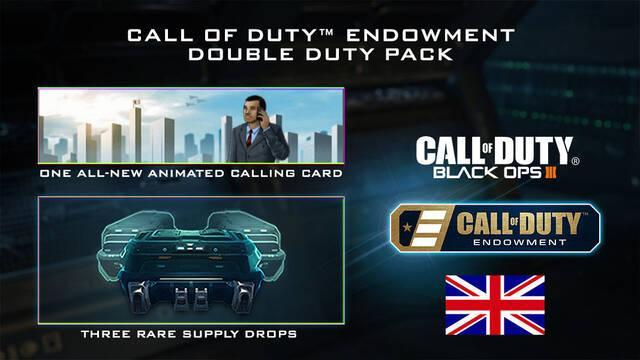 La iniciativa benéfica Call of Duty Endowment llega a Reino Unido