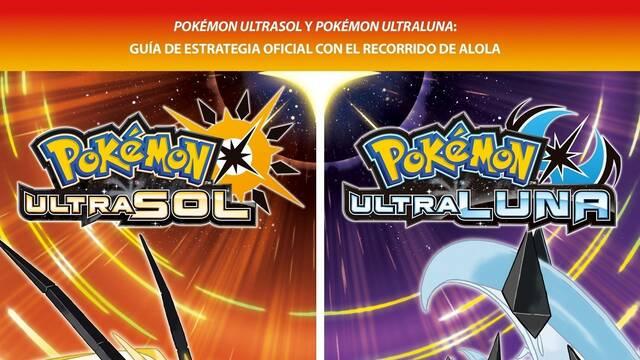 Pokémon Ultrasol y Pokémon Ultraluna tendrán una nueva guía oficial