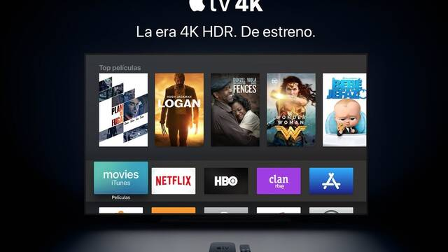 Así es el nuevo Apple TV 4K HDR