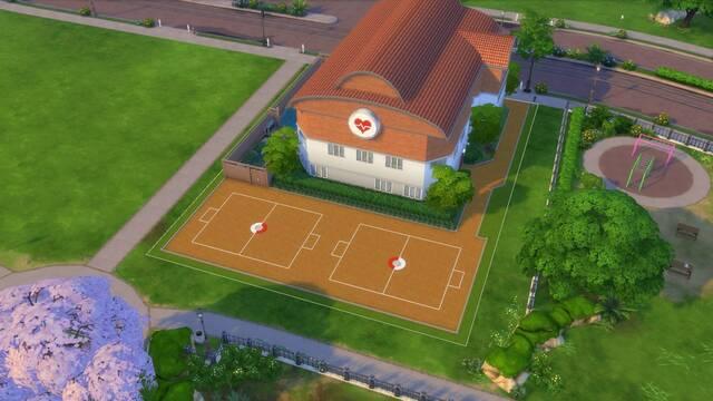 Diseñan un Centro Pokémon dentro de Los Sims 4