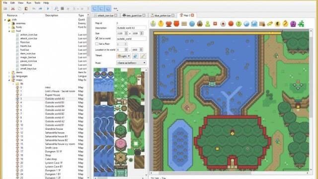 Solarus es un motor de código abierto para la creación de juegos tipo Zelda