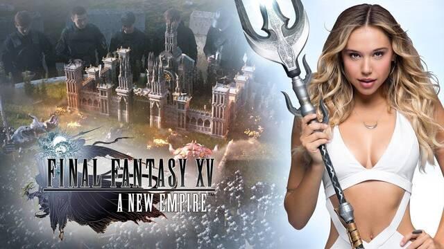 Final Fantasy XV Empire estrena nuevo spot con Alexis Ren como protagonista