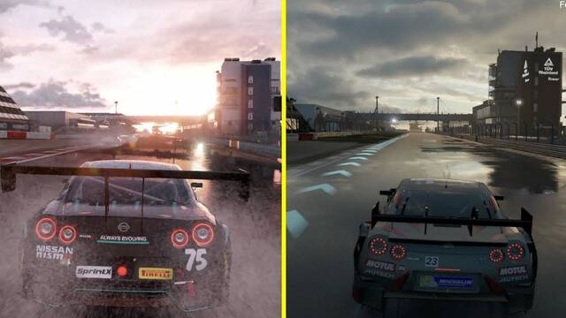Cara a cara en vídeo entre Forza Motorsport 7 y Project Cars 2