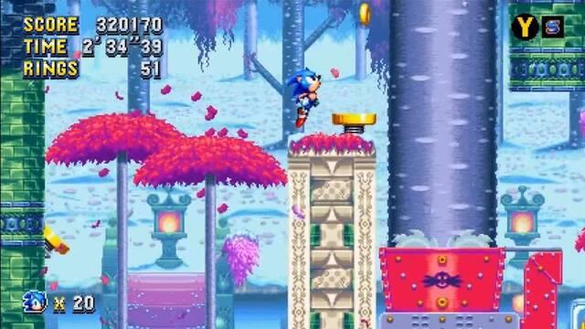 Ya disponible la actualización 1.03 de Sonic Mania