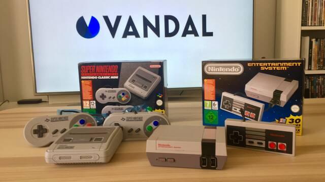 Jugamos a Super Nintendo Mini en directo