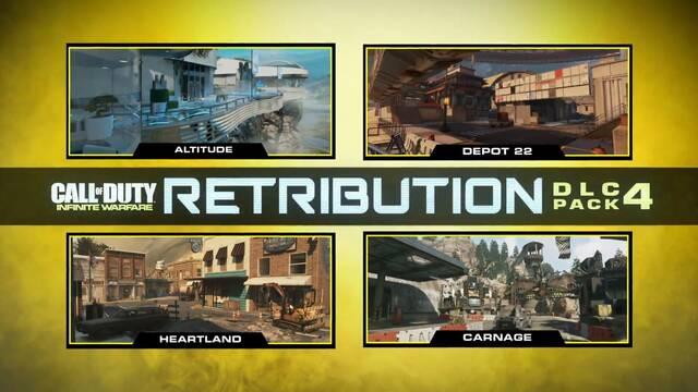 Nuevo tráiler para el contenido Retribution de Call of Dut: Infinite Warfare